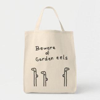 garden eels tote bag