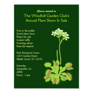 Garden Event Invitations