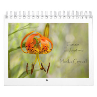 Garden Explorations Calendar