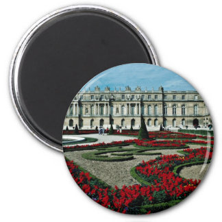 Garden facade, view from beyond South Parterre, Pa 2 Inch Round Magnet