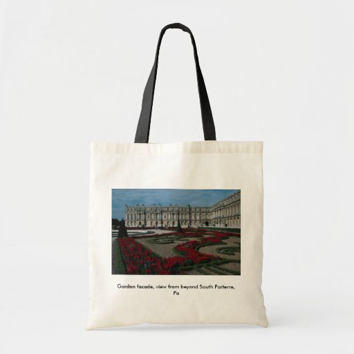 Garden facade, view from beyond South Parterre, Pa Tote Bags