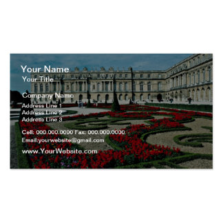 Garden facade view from beyond South Parterre Pa Business Card Template
