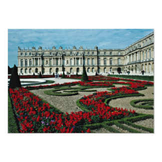 Garden facade, view from beyond South Parterre, Pa 5x7 Paper Invitation Card