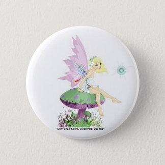 Garden fairy button
