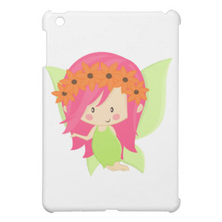 Garden Fairy- Green and Pink iPad Mini Covers