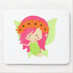 Garden Fairy- Green and Pink Mouse Pads
