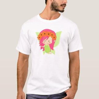 Garden Fairy- Green and Pink T-Shirt
