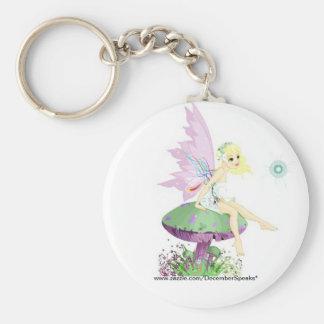Garden fairy keychain