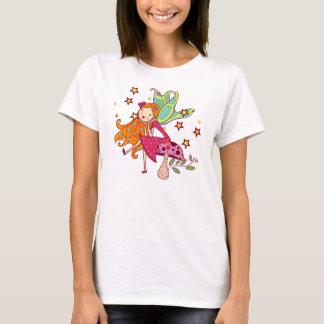 Garden Fairy on Mushroom T-Shirt