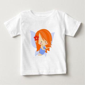 Garden Fairy- Orange and Blue Baby T-Shirt