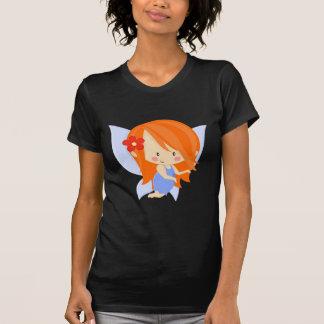 Garden Fairy- Orange and Blue T-Shirt