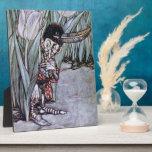 Garden Fairy Photo Plaque