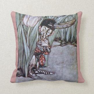 Garden Fairy Throw Pillows