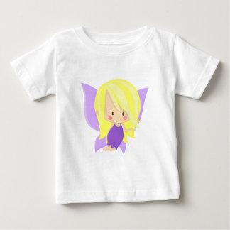Garden Fairy- Purple and Yellow Baby T-Shirt