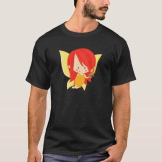 Garden Fairy- Red and Orange T-Shirt
