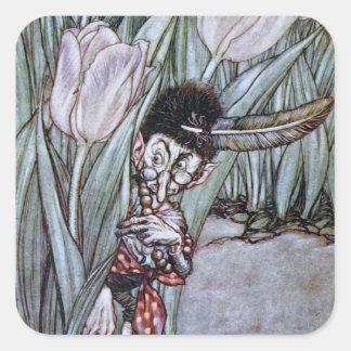 Garden Fairy Square Sticker