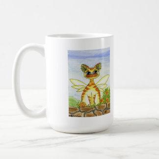 Garden, Fantasy Fairy Kitty Coffee Mug