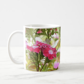 Garden Fantasy - Sweet Williams Coffee Mug