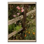Garden Fence Card