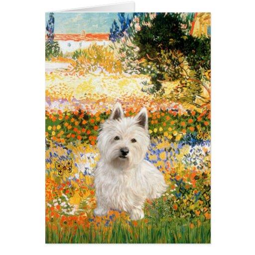 Garden Fiorito - Westie 1 Card