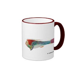 Garden Fish Ringer Mug