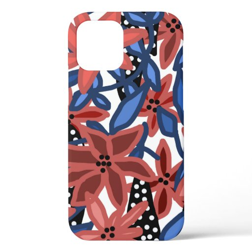 Garden Floral Tropical Design by © Cathy Thompson iPhone 12 Case