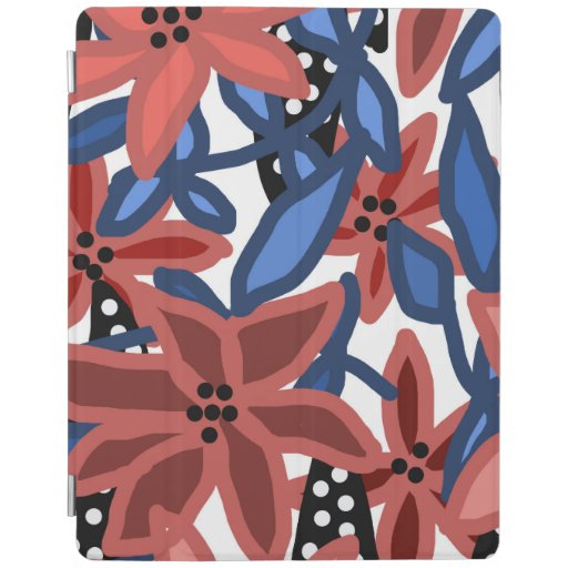 Garden Floral Tropical Design by © Cathy Thompson iPad Smart Cover