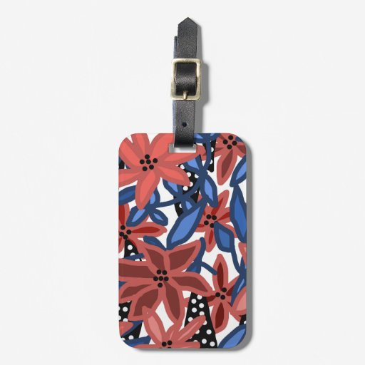Garden Floral Tropical Design by © Cathy Thompson Luggage Tag