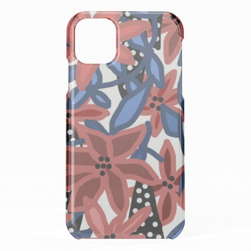 Garden Floral Tropical Design by © Cathy Thompson iPhone 11 Case