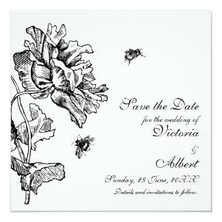 Garden Florals Wedding Invitation