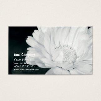 Garden flower business card