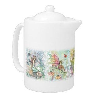 Garden Flower Fairies Teapot