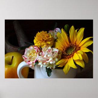 """Garden Flower"" Still Life Canvas Print"