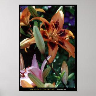 Garden Flowers #2 Posters