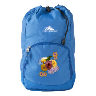Garden Flowers Back Pack