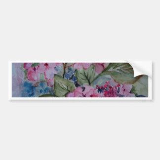 GARDEN FLOWERS BUMPER STICKER