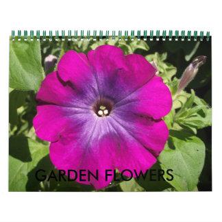 Garden Flowers Calendar