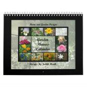 Garden Flowers Calendar 1 calendar
