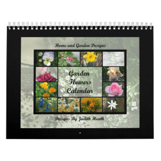 Garden Flowers Calendar 1