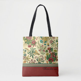 Garden Flowers Design Tote Bag