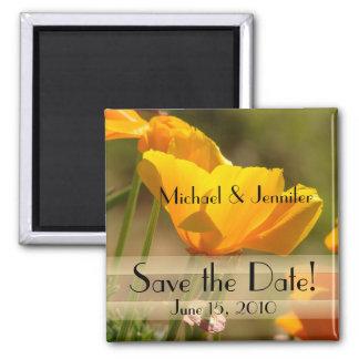 Garden Flowers Floral Wedding Nuptuals Magnet