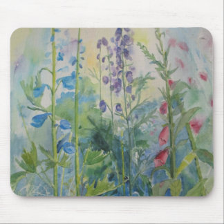 Garden Flowers Mouse Pad