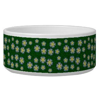 Garden flowers pattern bowl