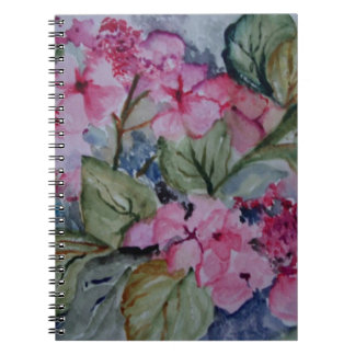 GARDEN FLOWERS SPIRAL NOTE BOOK