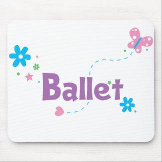 Garden Flutter Ballet Mouse Pad