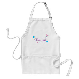 Garden Flutter Football Adult Apron
