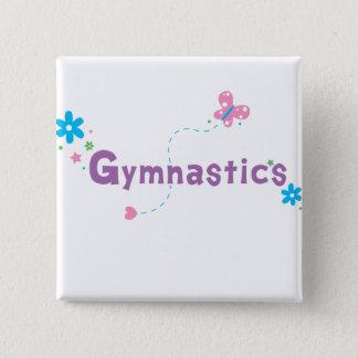 Garden Flutter Gymnastics Button