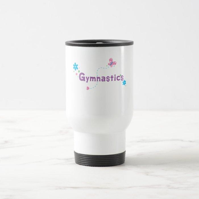 Garden Flutter Gymnastics Travel Mug