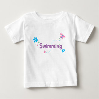 Garden Flutter Swimming Baby T-Shirt