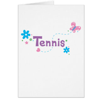 Garden Flutter Tennis Cards